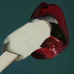 Lick / 50X40 / Oil on Canvas / 2009
